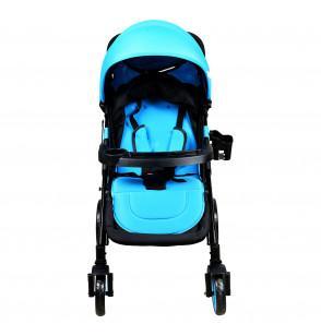 Blue Super Strong Stroller Pram