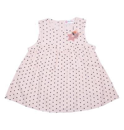 Pink Polka Dots Baby Frock Dress