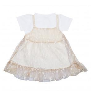 Cinderella Gold Baby Frock Dress