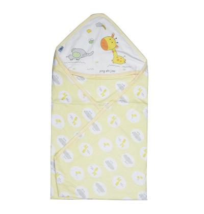 Super Soft Cotton Hooded Swaddle