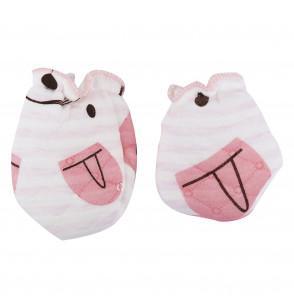 Cute Newborn Printed Mittens
