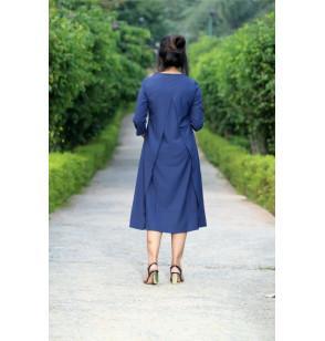 Blue Maternity Gorgeous Full Dress