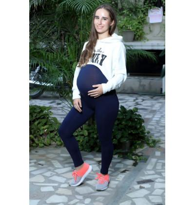 Blue Maternity Leggings cum Pant