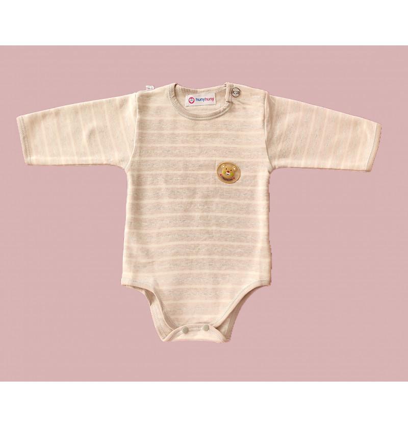 Infant Romper-Grey