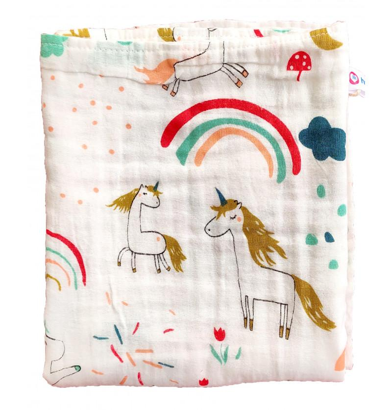 Baby Muslin Blanket Super...