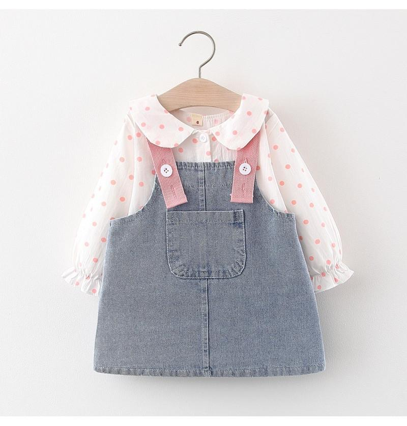 Baby Girl Dungaree Infant...