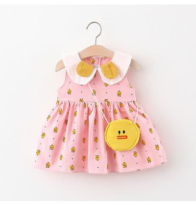 Infant Baby Frock - Pink...