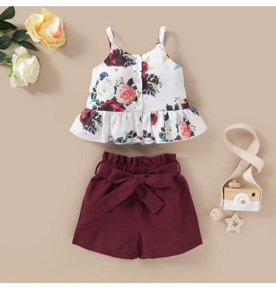 Infant Baby Girl Floral Top...