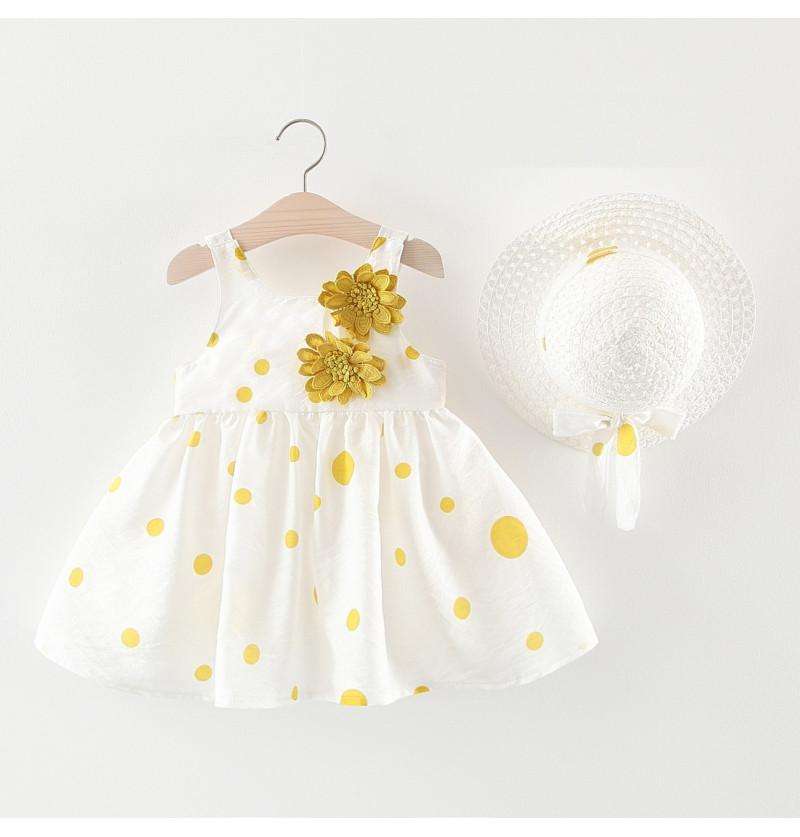 Infant Baby Girl Frock with...
