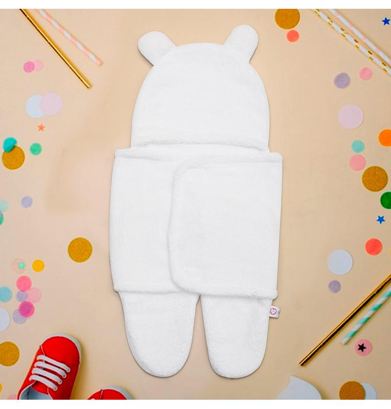 Infant Baby Hooded Swaddle...
