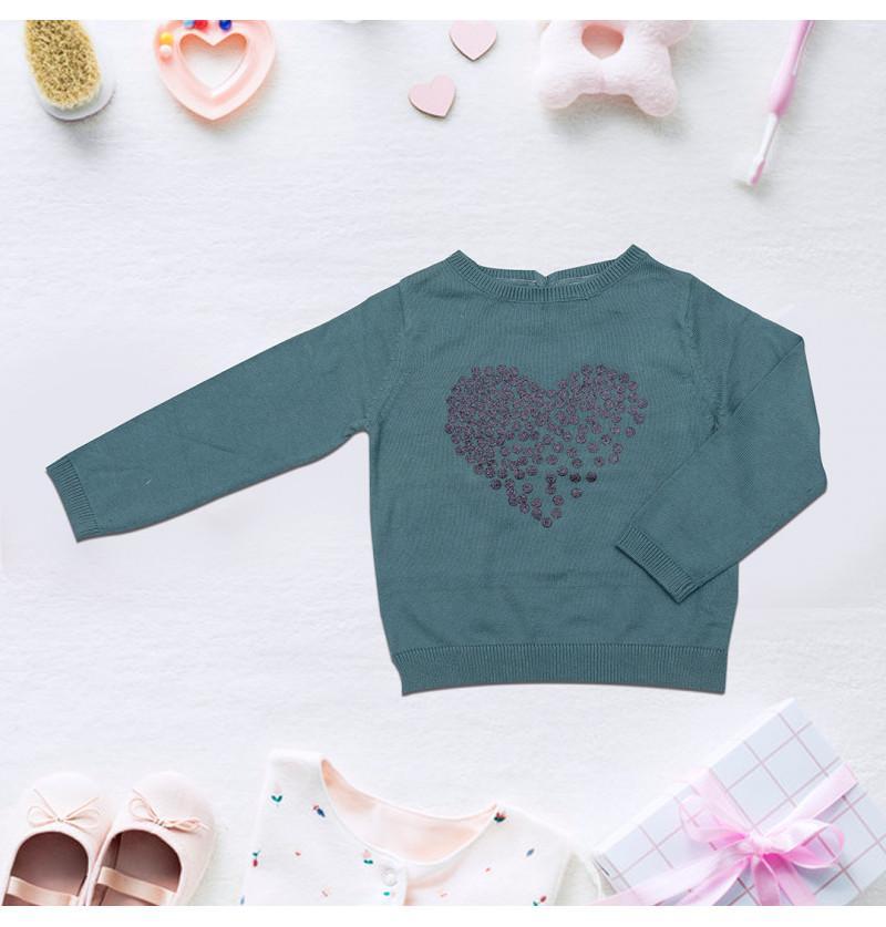 Infant Baby Sweater Full...