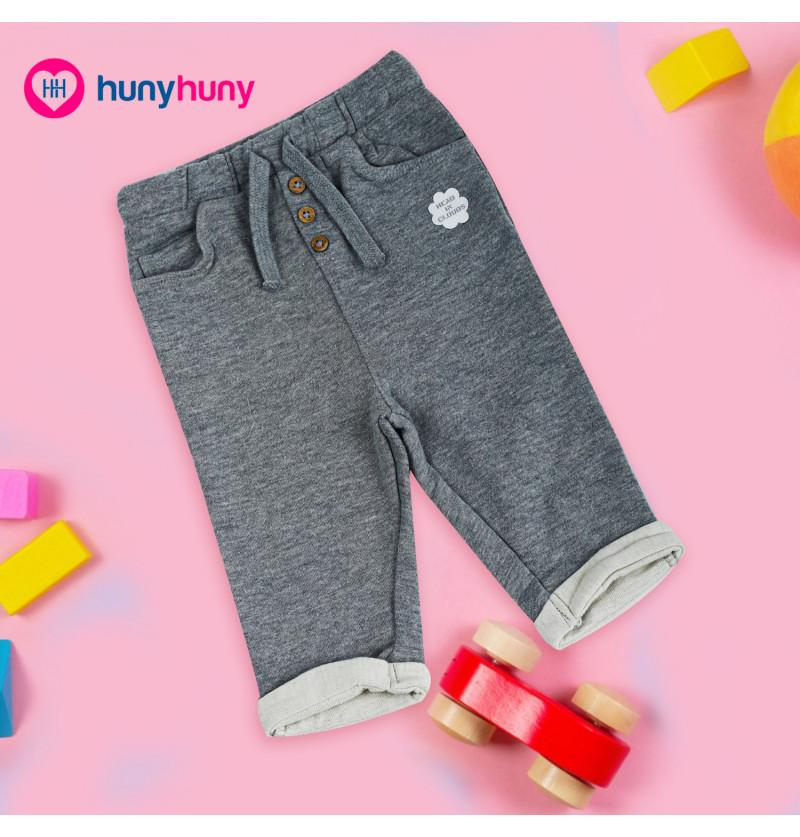Baby Warm Trousers Pant - Grey