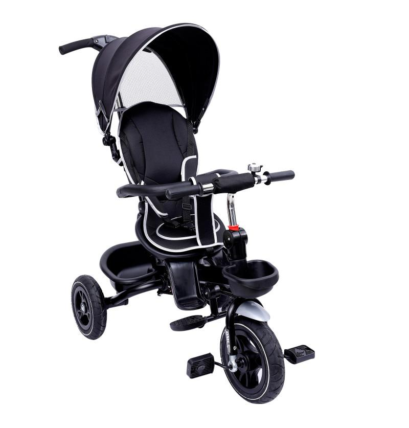 Tricycle cum Stroller - Black