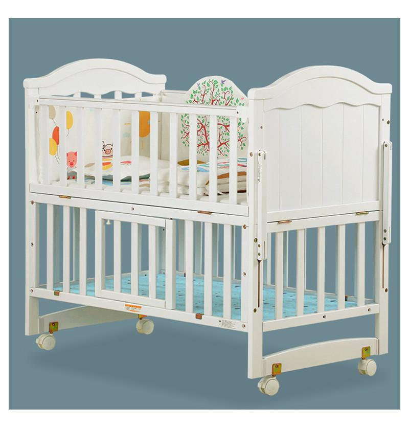 Baby Bed Cot Pinewood 9 IN...