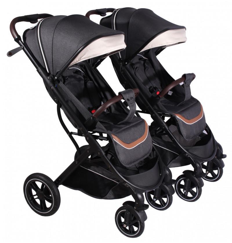 Luxury Twin Stroller Pram...