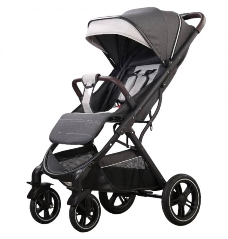 Luxury Stroller Pram -Grey...