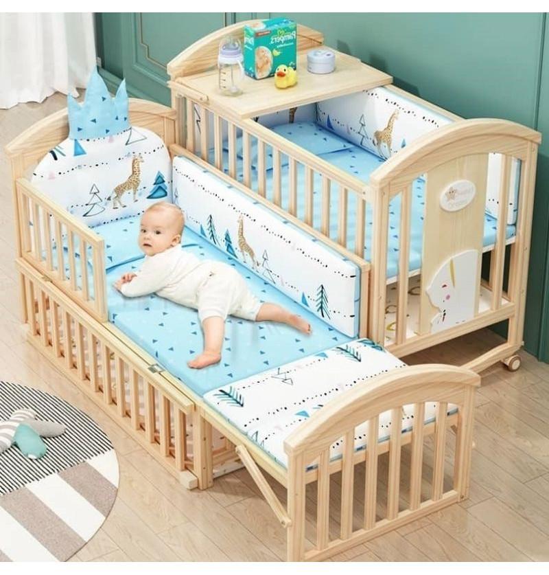 Pinewood Baby Bed Crib 12...