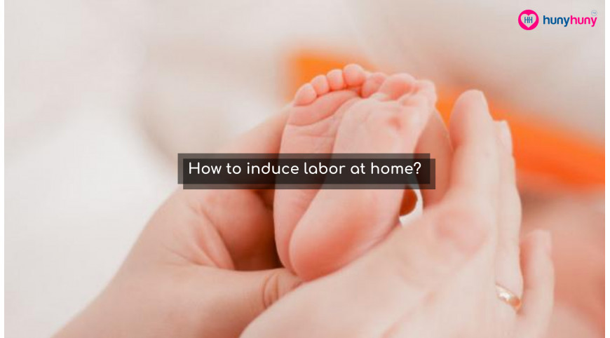 How to induce labor at home as long as possible?