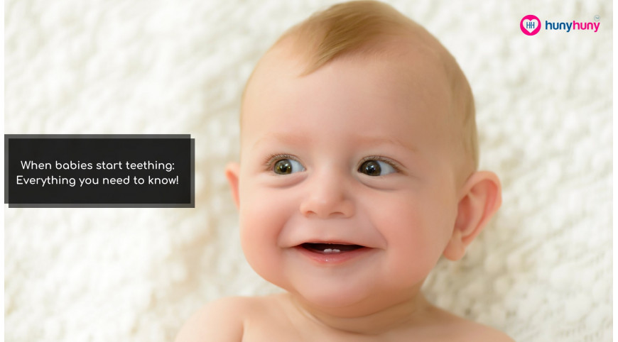 When babies start teething: Everything you need to know!