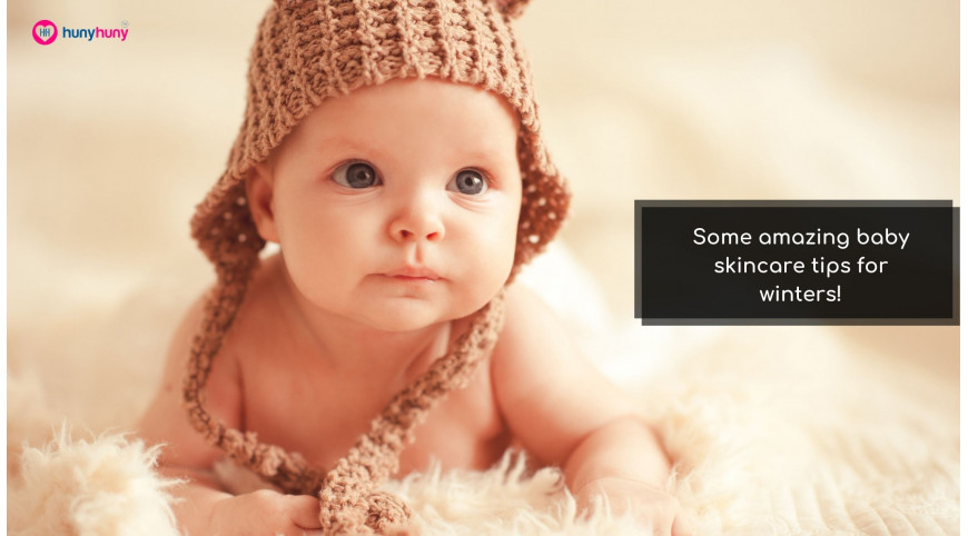 Some amazing baby skincare tips for winters!