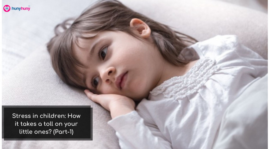 Stress in children: How it takes a toll on your little ones? (Part-1)