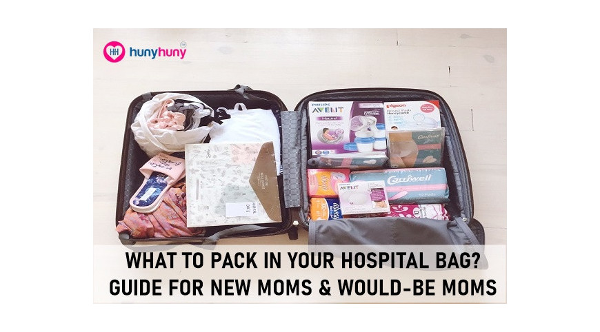 What To Pack In Your Hospital Bag? Guide for New Moms & Would-Be Moms